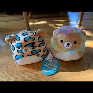 SOLD OUT! NWT lion Flip-a-mallow Squishmallows